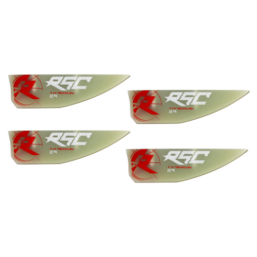 Kit 4 ailerons RSC Wake